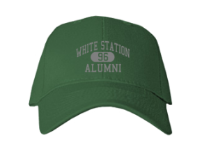 White Station High School Embroidered Baseball Caps