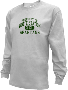 White Station High School Kid Long Sleeve Shirts