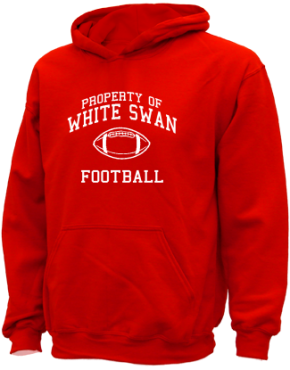 White Swan High School Kid Hooded Sweatshirts