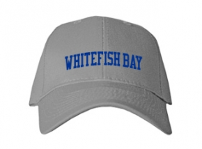 Whitefish Bay High School Kid Embroidered Baseball Caps