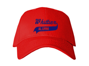 Whittier Elementary School Embroidered Baseball Caps