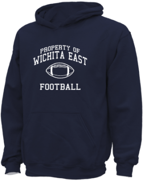 Wichita East High School Kid Hooded Sweatshirts