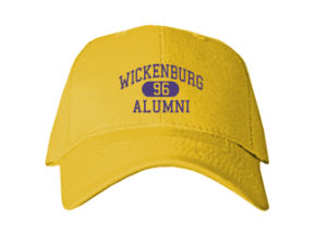 Wickenburg High School Embroidered Baseball Caps