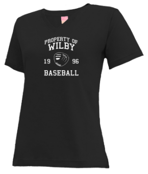 Wilby High School V-neck Shirts