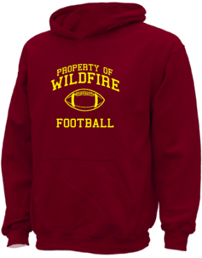 Wildfire Elementary School Kid Hooded Sweatshirts