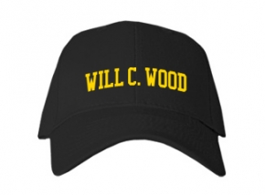 Will C. Wood High School Kid Embroidered Baseball Caps