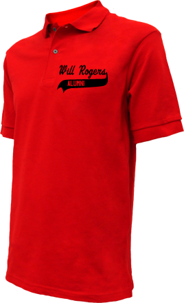 Will Rogers Junior High School Embroidered Polo Shirts