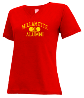 Willamette High School V-neck Shirts