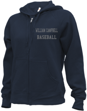 William Campbell High School Zip-up Hoodies