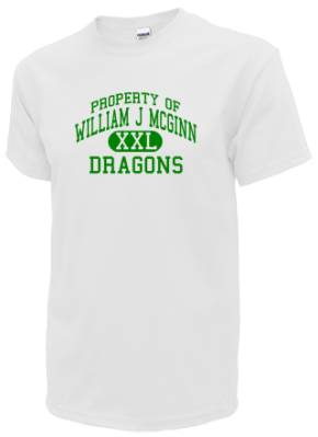 William J Mcginn Elementary School T-Shirts