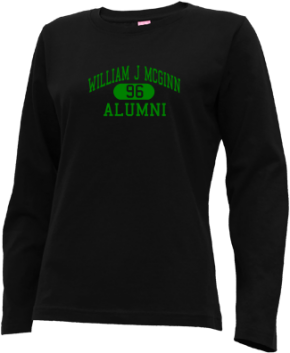 William J Mcginn Elementary School Long Sleeve Shirts