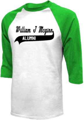 William J Mcginn Elementary School Raglan Shirts