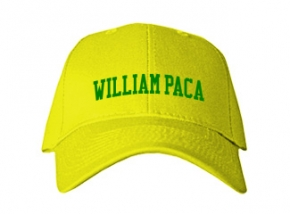 William Paca Middle School Kid Embroidered Baseball Caps