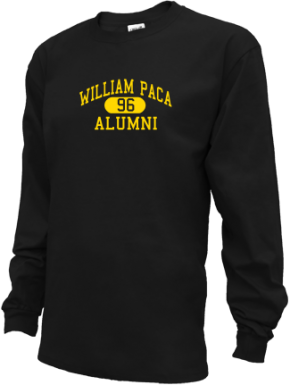 William Paca Middle School Long Sleeve Shirts