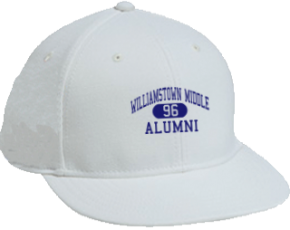Williamstown Middle School Flat Visor Caps