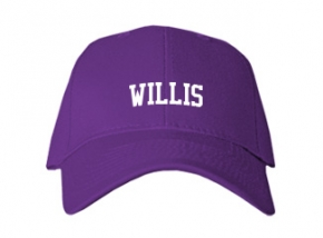 Willis High School Kid Embroidered Baseball Caps
