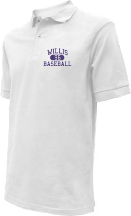 Willis High School Embroidered Polo Shirts