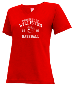 Williston High School V-neck Shirts