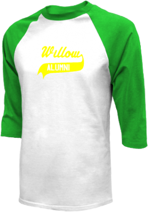 Willow Elementary School Raglan Shirts