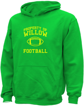 Willow Elementary School Kid Hooded Sweatshirts