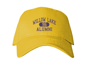 Willow Lake School Embroidered Baseball Caps