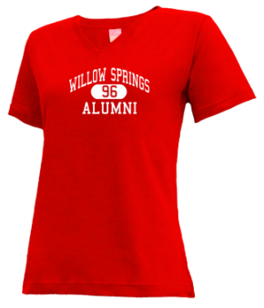 Willow Springs High School V-neck Shirts