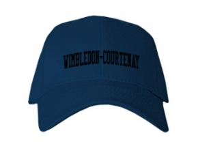 Wimbledon-courtenay High School Kid Embroidered Baseball Caps