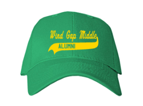 Wind Gap Middle School Embroidered Baseball Caps