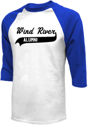 Wind River Middle School Raglan Shirts