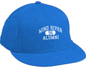 Wind River Middle School Flat Visor Caps