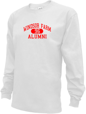 Windsor Farm Elementary School Long Sleeve Shirts