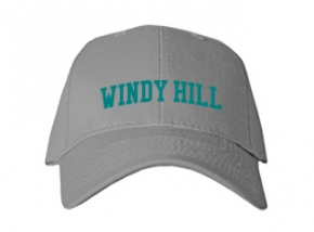 Windy Hill Middle School Kid Embroidered Baseball Caps