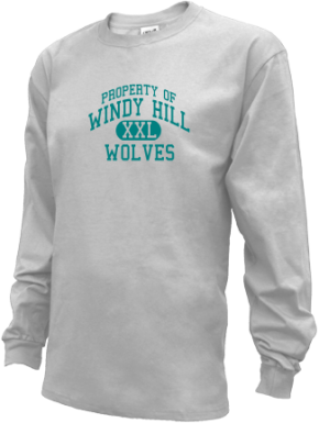 Windy Hill Middle School Kid Long Sleeve Shirts
