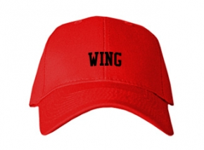 Wing Elementary School Kid Embroidered Baseball Caps