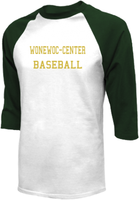 Wonewoc-center High School Raglan Shirts