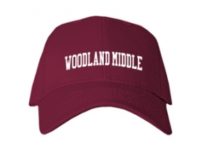 Woodland Middle School Kid Embroidered Baseball Caps