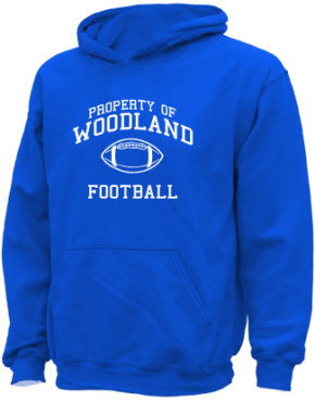 Woodland Middle School Kid Hooded Sweatshirts