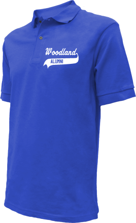 Woodland Middle School Embroidered Polo Shirts