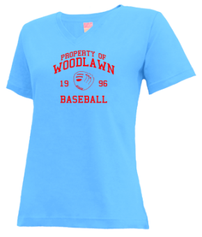 Woodlawn High School V-neck Shirts
