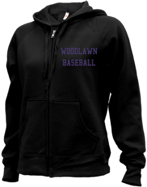 Woodlawn High School Zip-up Hoodies