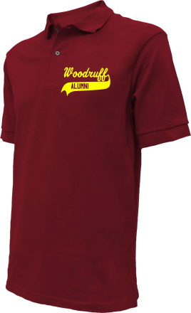 Woodruff High School Embroidered Polo Shirts