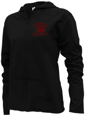 Woods Elementary School Girls Zipper Hoodies