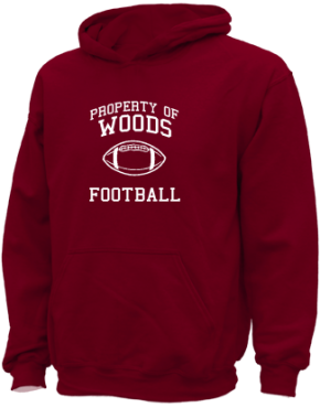 Woods Elementary School Kid Hooded Sweatshirts
