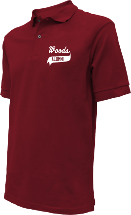 Woods Elementary School Embroidered Polo Shirts