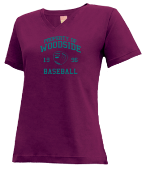 Woodside High School V-neck Shirts