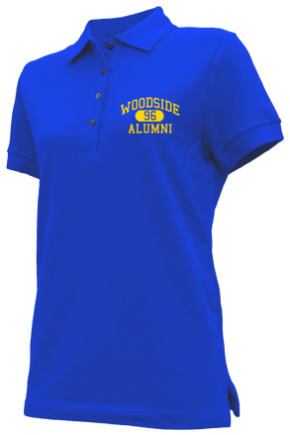 Woodside Middle School Embroidered Polo Shirts