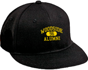 Woodside Middle School Flat Visor Caps