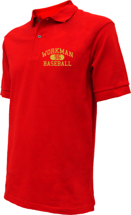 Workman High School Embroidered Polo Shirts