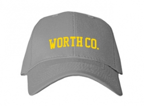 Worth Co. High School Kid Embroidered Baseball Caps