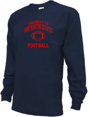 Worthington Estates Elementary School Kid Long Sleeve Shirts